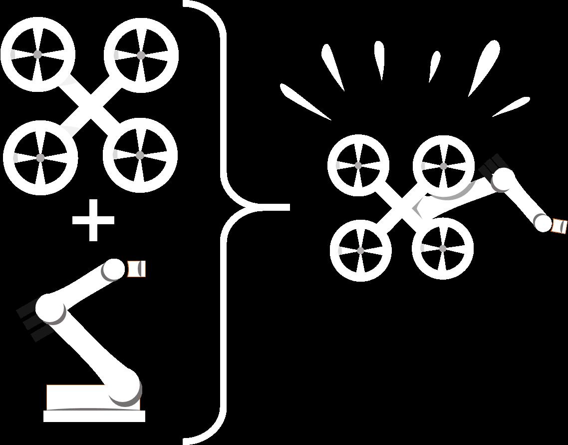 drone de télémanipulation
