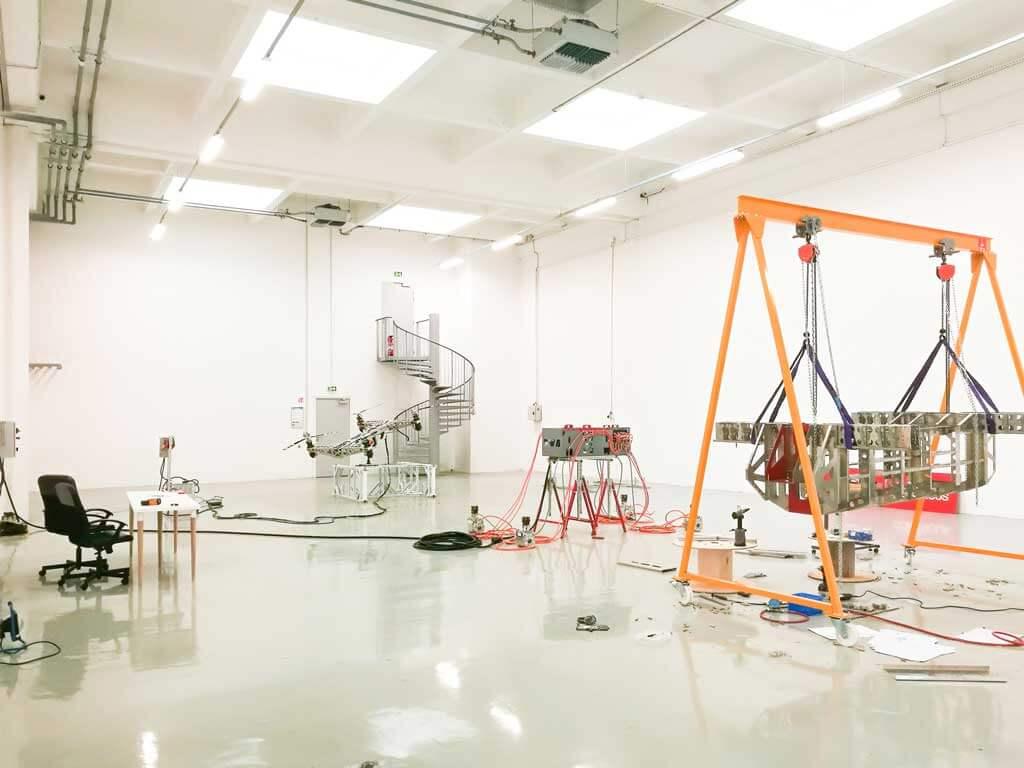 Atelier de fabrication de nos drone industriels made in France