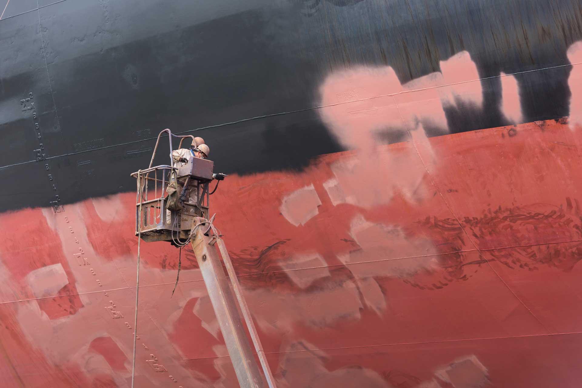 Drone pour peinture